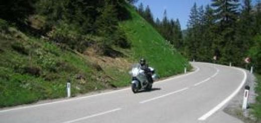 cestovani na moto